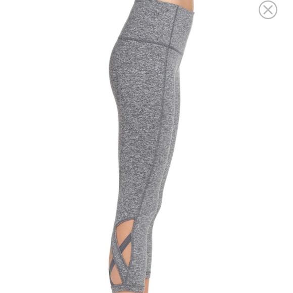 86c60991b3b6d8 Zella Pants   High Waist Camila Yoga Crop Leggings Cut Out   Poshmark